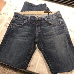 Vigoss Bootcut jeans, waist 31, inseam  31.